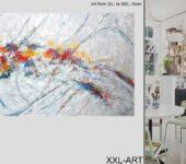 Mit XXL Leinwandmalerei Wände dekorieren.