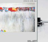 Berliner Künstler präsentieren großformatige Gemälde, Malerei.